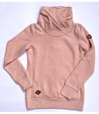Ragwear Cowl Neck Sweater - Pink