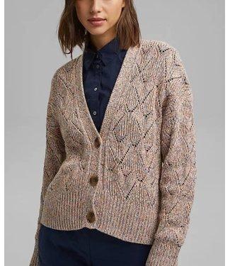 Esprit Organic Cotton Cardigan - Multicolor
