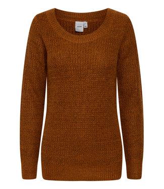 ICHI Sweater - Bambay Brown