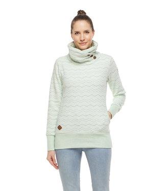 Ragwear Chevron Sweatshirt - Light Mint