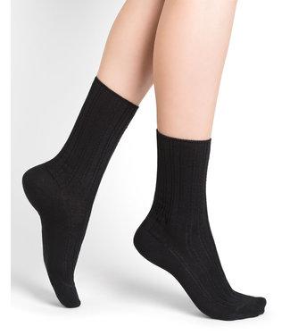 BleuForet Micro Modal Socks - Black