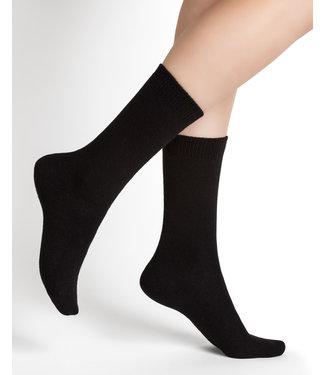 BleuForet Cashmere Blend Socks - Black