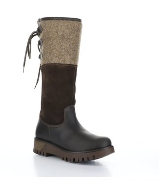 Bos&Co Waterproof Suede and Leather Boot - offee