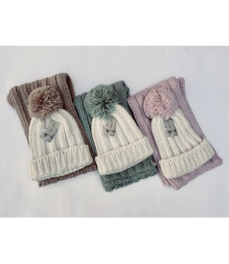 Charlie Paige Hat and Scarf Set