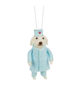 Abbott X-Mas Ornament - Doctor Dog