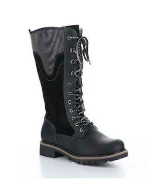 Bos&Co Harrison Suede Boots - Black and Grey