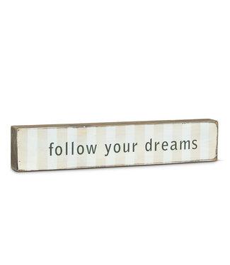 Abbott Follow Your Dreams Stackable Block