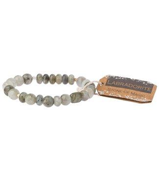 Scout Bracelet - Labradorite - Stone of Magic