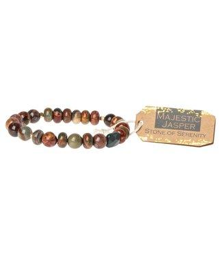 Scout Bracelet - Majestic Jasper - Stone of Serenity