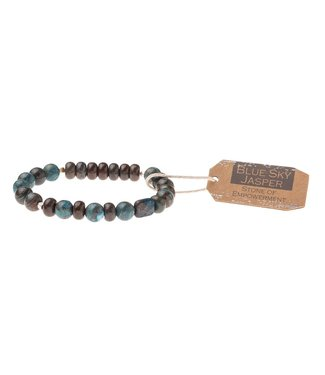 Scout Bracelet - Blue Sky Jasper - Stone of Empowerment