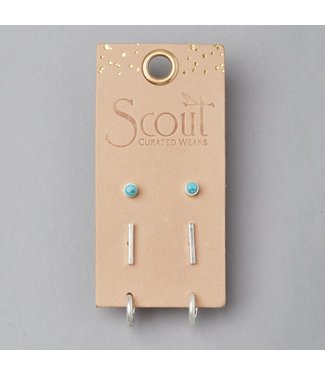Scout Stud Trio - Turquoise/Silver