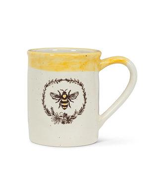 Abbott Bee In Wreath Mug