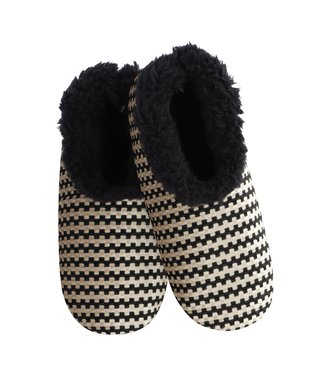 Snoozies Slippers - Tan Chenille
