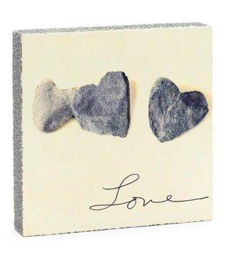 Cedar Mountain Art Block - Love Stones