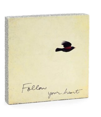 Cedar Mountain Art Block - Follow Heart