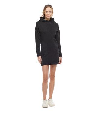 Ragwear Pullover Hoodie Dress - Charcoal