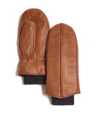 Brume World Leather Mittens w/ Cuff - Camel