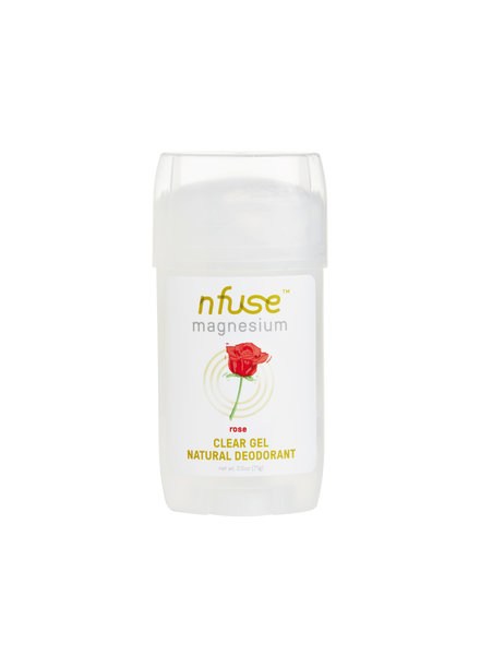 NFuse LLC Rose Clear Gel Deodorant