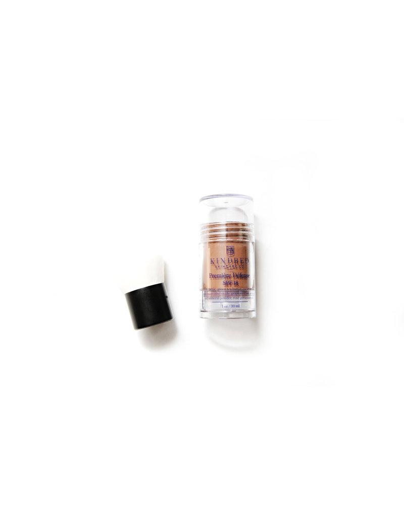 Kindred Skincare Co. Premiere Defense Dark SPF 18