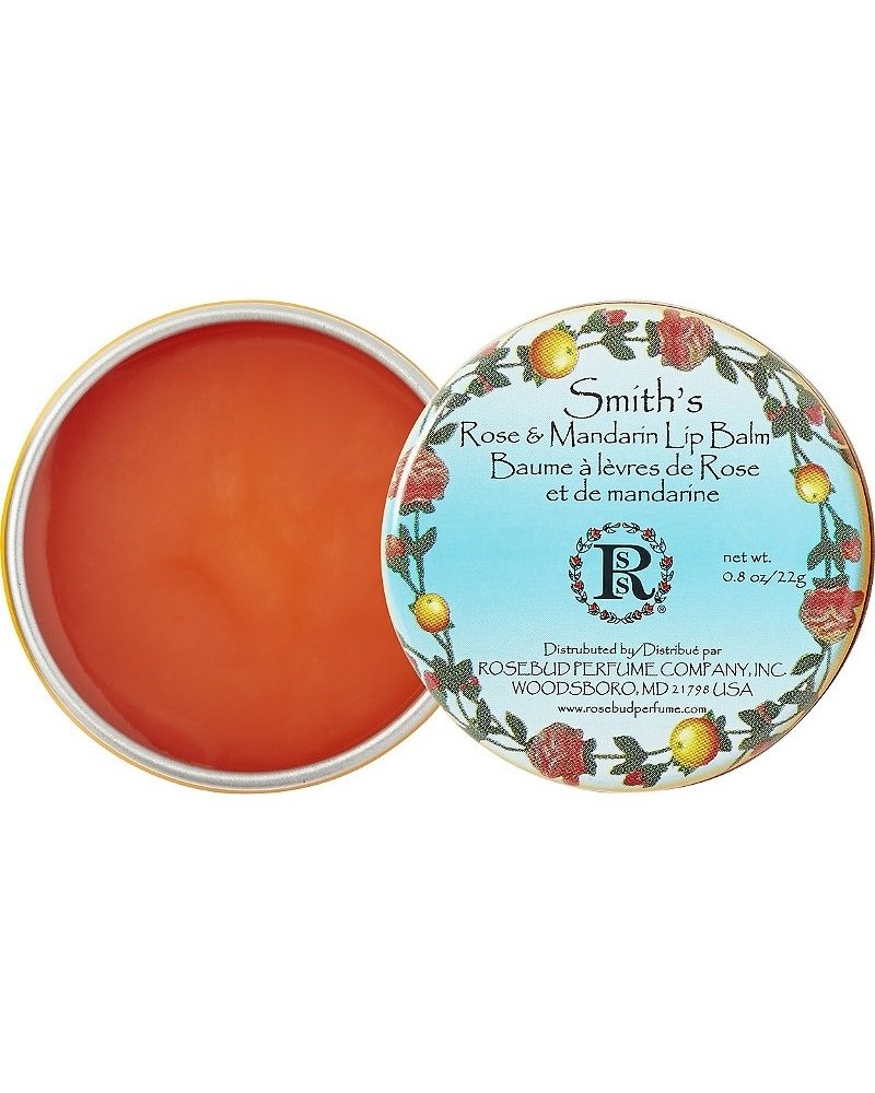 Rosebud Rose Mandarin Lip Balm