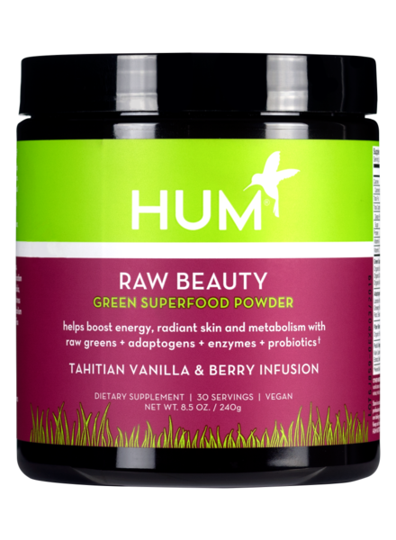 Hum Nutrition Raw Beauty Tahitian Vanilla & Berry