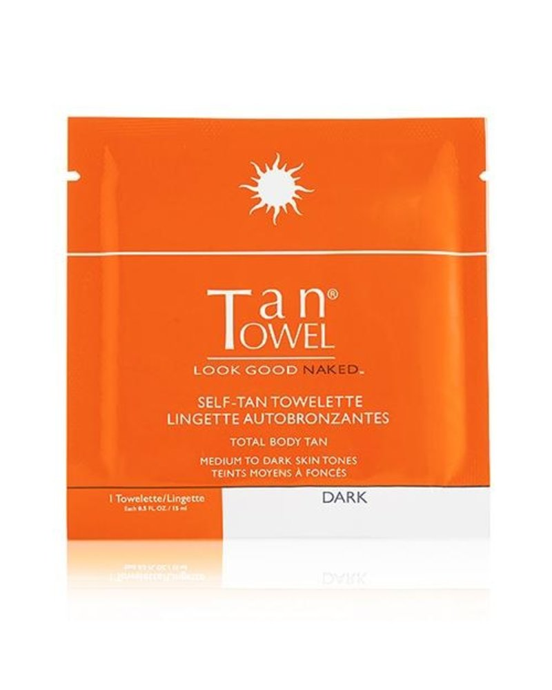 Tan Towel Tantowel Full Body Dark