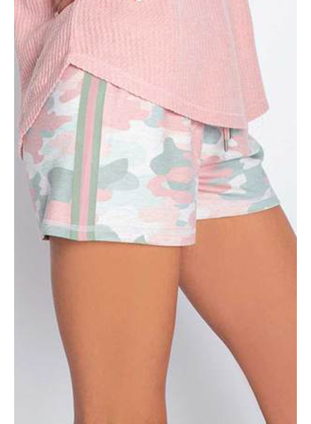 PJ Salvage Camo Oatmeal Short