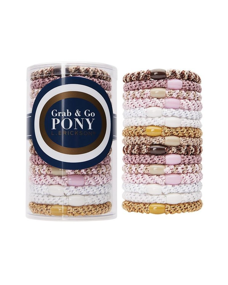 France Luxe Grab & Go Pony (15 Ties)