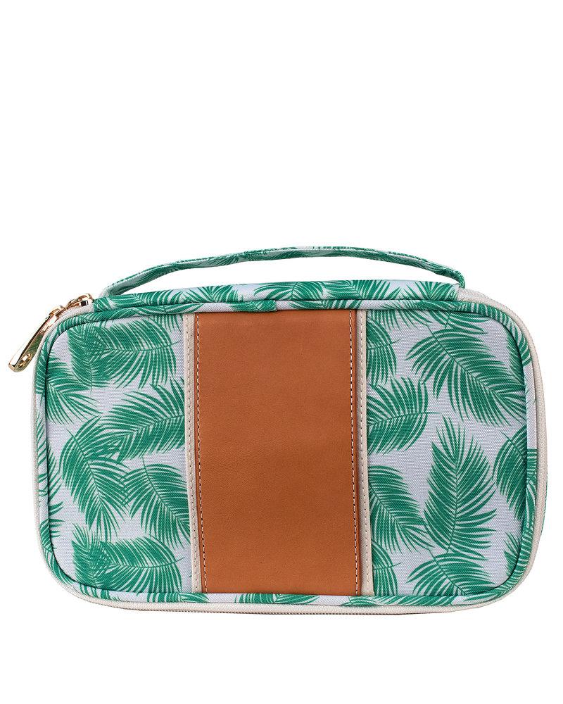 "Boulevard Megan Palm Print Case ""Good Vibes Only"""