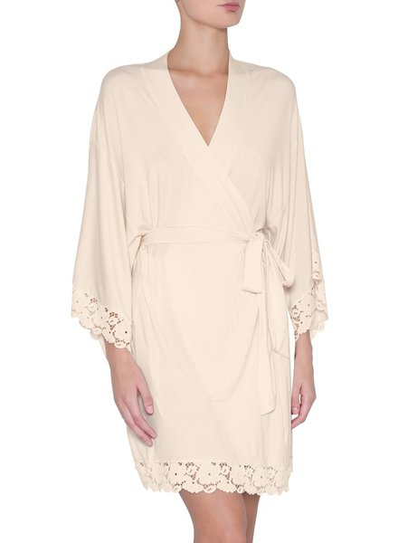 Eberjey Naya Kimono, Size Large