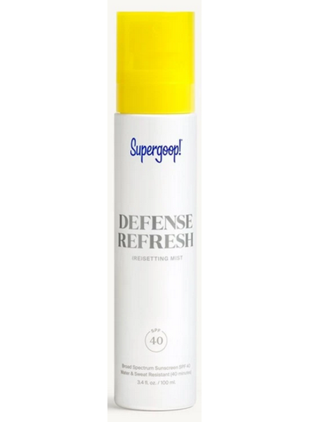 Defense Refresh Setting Mist SPF 40
