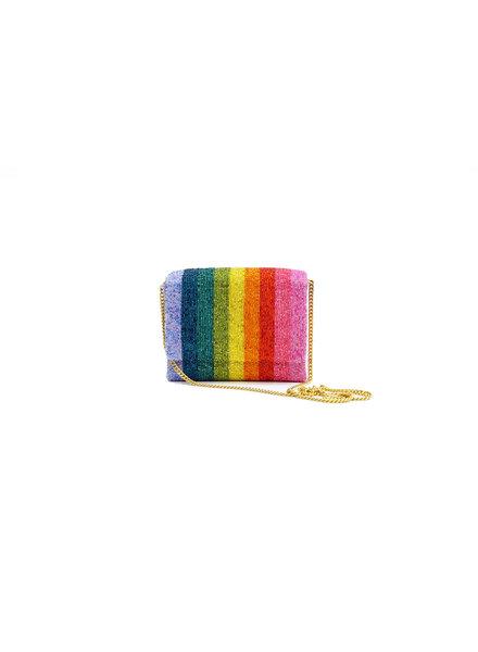 Tiana Designs Rainbow Multi Beaded Bag