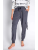 PJ Salvage Charcoal Cargo Banded Pant