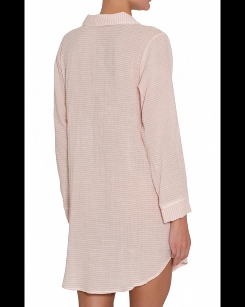Eberjey Nautico Woven Sleepshirt