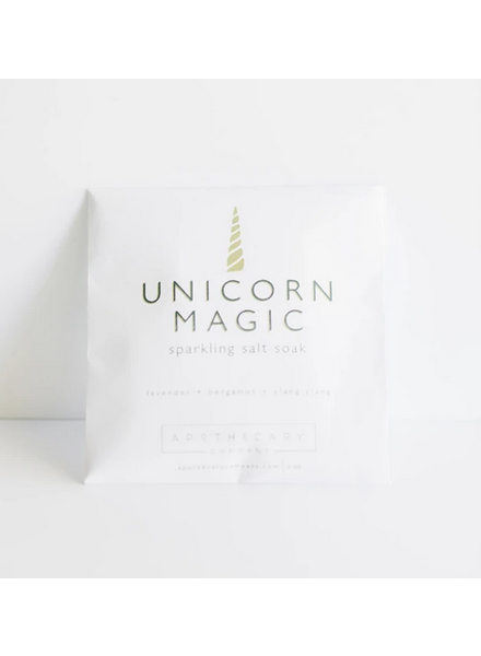 Apothecary Co. Unicorn Magic Sparkling Salt Soak