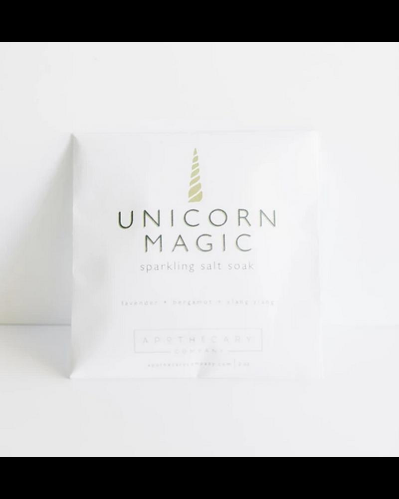 Apothecary Co. Unicorn Magic Sparkling Salt Soak