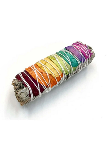 Apothecary Co. Chakra Rose Sage Smudge Stick