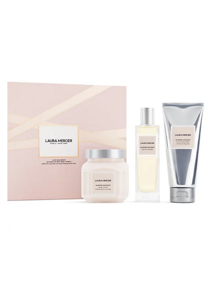 Laura Mercier Almond Coconut Bath Set