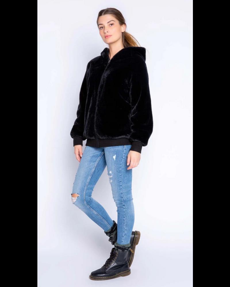 PJ Salvage Love Life Cozy Jacket