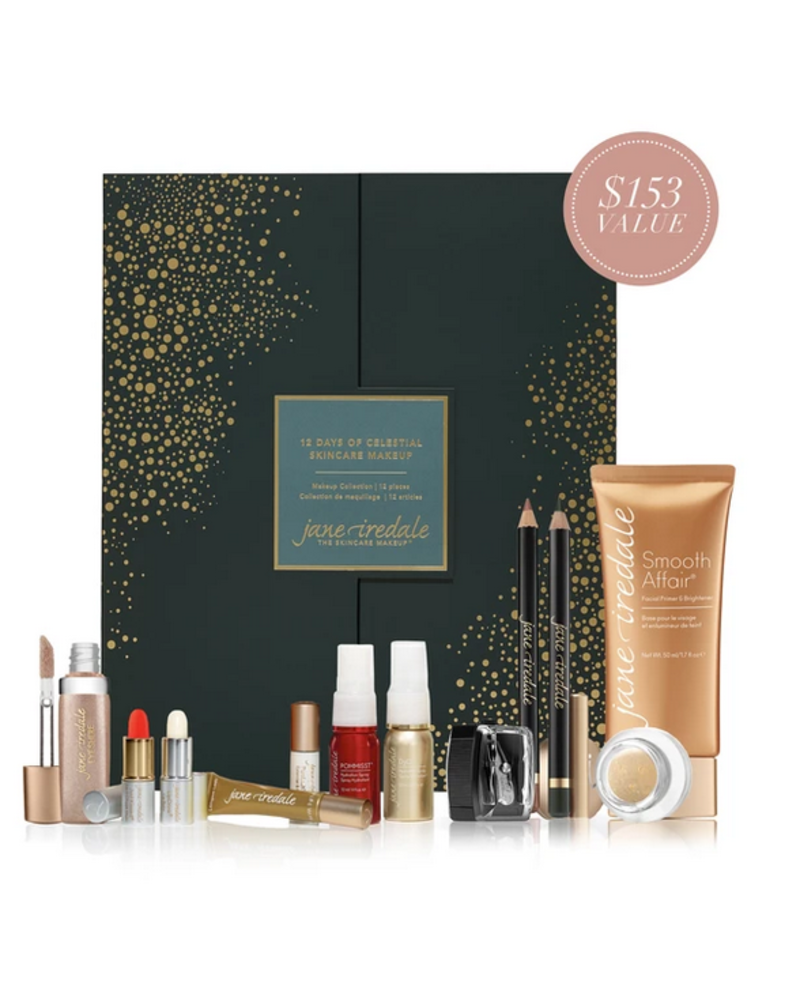 Jane Iredale 12 Days of Celestial Skincare Makeup
