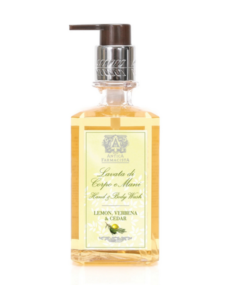 Antica Farmacista Lemon, Verbena, Cedar Hand & Body Wash