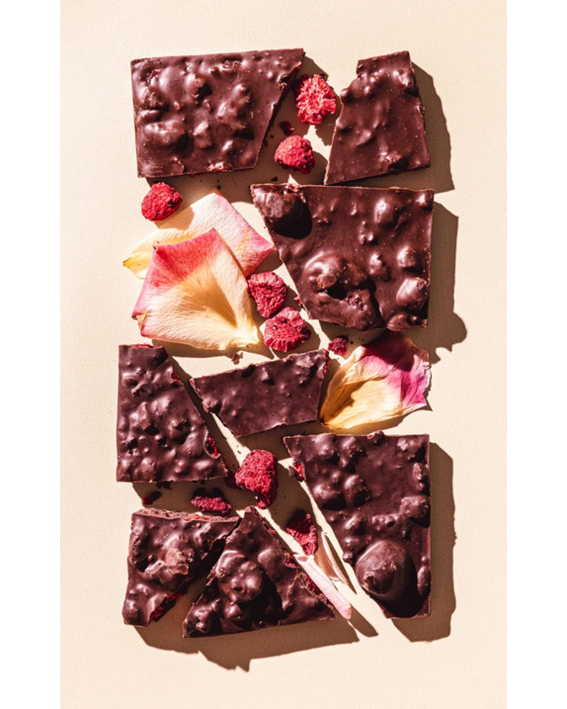 Compartes Chocolate Raspberry Rose Chocolate Bar
