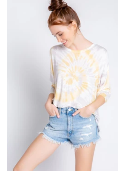PJ Salvage Sunburst Sunshine L/S Top
