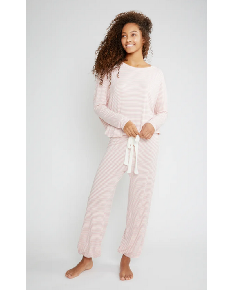 Eberjey Sadie Stripes Slouchy Set