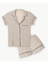 Eberjey Coffee Bean PJ Set