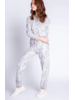 PJ Salvage Leopard Print Banded Pant