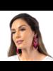 Deepa Gurnani Passion Beaded Drop Earrings