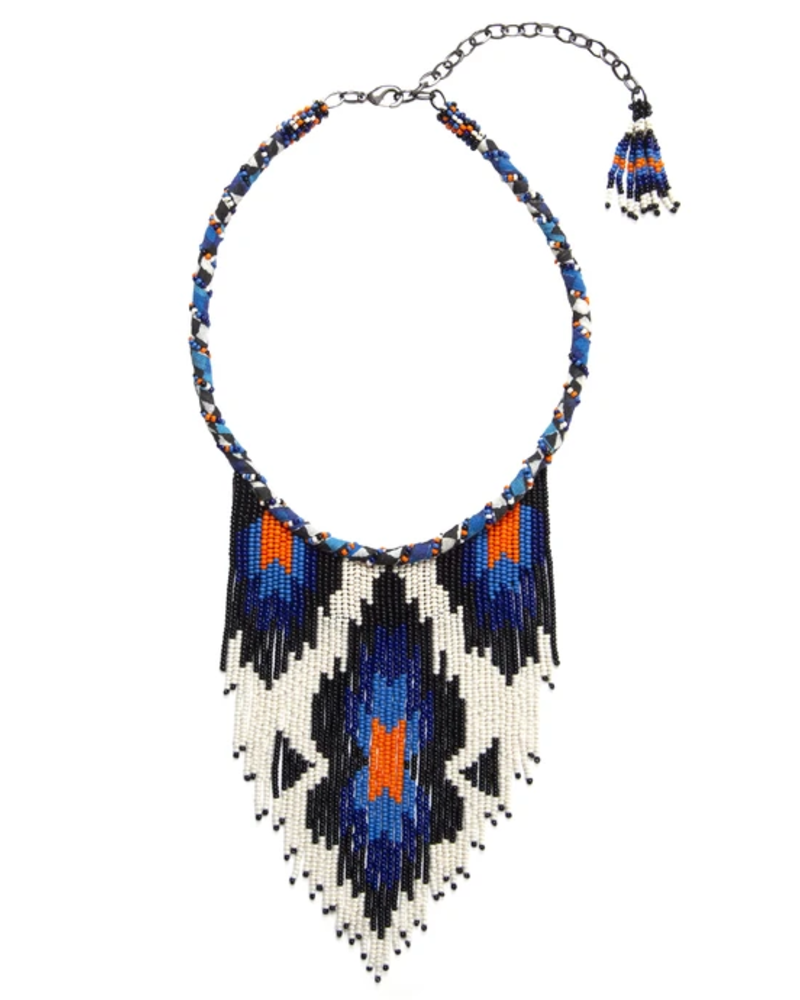 Deepa Gurnani Kanti Beaded Choker Necklace