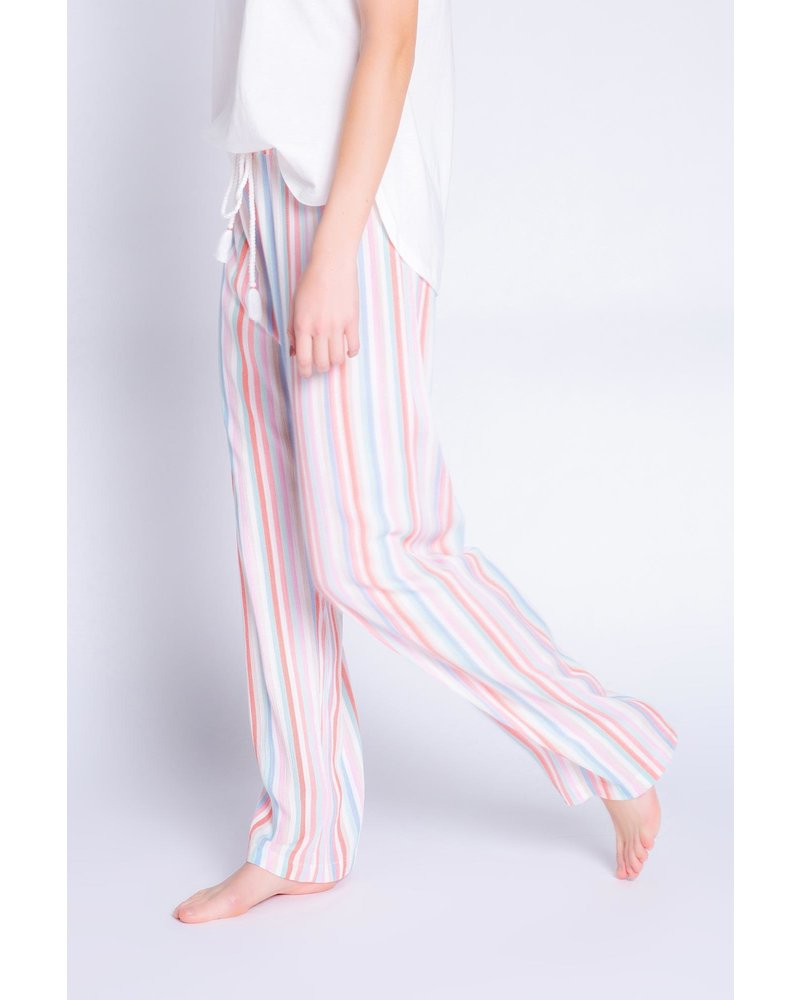 PJ Salvage Saturday Morning Striped Pant