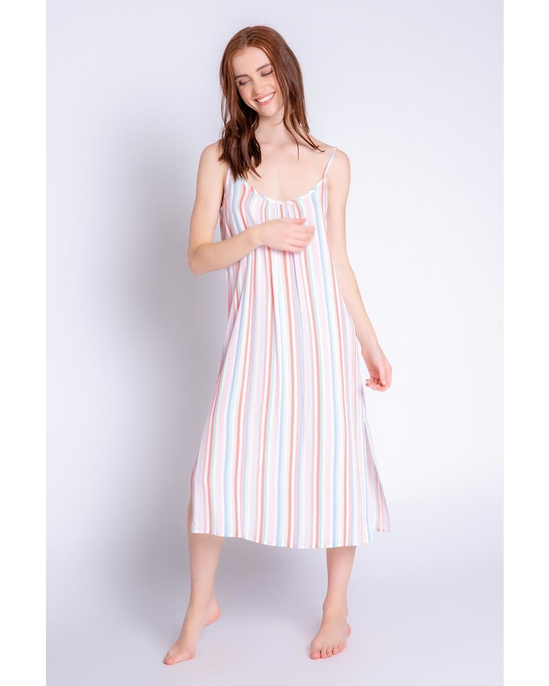 PJ Salvage Saturday Morning Striped Dress